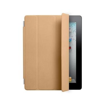 Чехол Apple Smart Cover Tan (кожа, MC948, для iPad2)