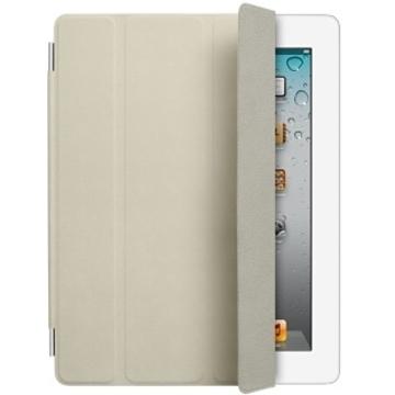 Чехол Apple Smart Cover Cream (кожа, белый, для iPad3, MD305ZM/A)