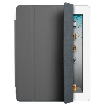 Чехол Apple Smart Cover Dark Grey (для iPad2/3/4, полиуретан, MD306)