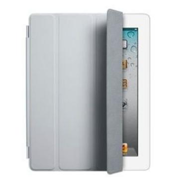 Чехол Apple Smart Cover Light Grey (для iPad2/3/4, полиуретан, MD307)