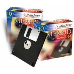 "Дискеты Nashua 2HD 10шт (3.5"", картон)"