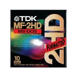 "Дискеты TDK 2HD 10шт (3.5"", картон)"