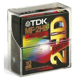 "Дискеты TDK 2HD 10шт (3.5"", пластик)"