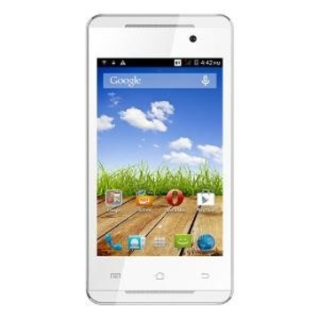 Micromax Canvas Fire A093 White Gold
