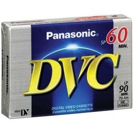 Видеокассета miniDV Panasonic DVM-80PR