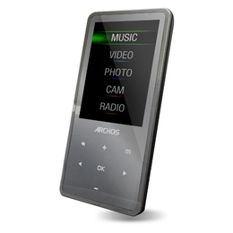 """Archos 24C Vision 8GB Black (3"""" LCD 240x320, FM-радио, диктофон, сенсорные кнопки управления)"""