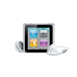 Плеер Apple iPod Nano 6th Gen 8GB Silver (MC525LL/A)