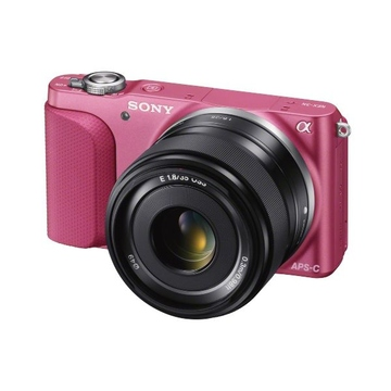 Sony NEX-3NL Kit 16-50mm Pink