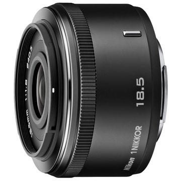 Nikon 18.5mm F/1.8 Nikkor 1 Black