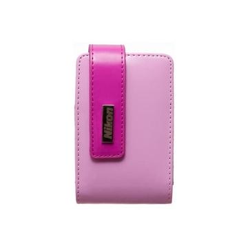 Чехол для фотоаппарата Nikon CS-S29 Pink (для Nikon S400/S2500/S3000/S3100/S4100, иск. кожа)