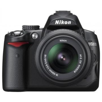 Nikon D5000 Double Kit 18-55mm, 55-200mm VR