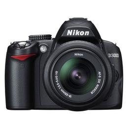Nikon D3000 Kit 18-55mm VR