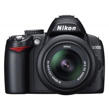 Nikon D3000 Kit 18-55mm DX-II