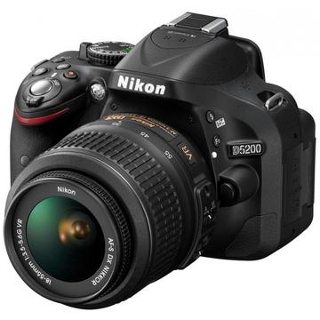Nikon D5200 Kit 18-55mm VR-II DX Black