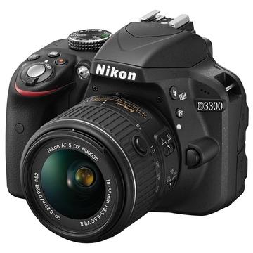 Nikon D3300 Kit 18-55mm VR Black