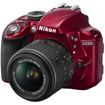 Nikon D3300 Kit 18-55mm VR-II Red