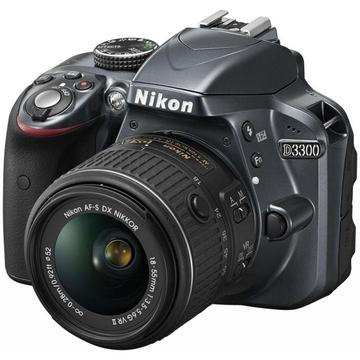 Nikon D3300 Kit 18-55mm VR Grey