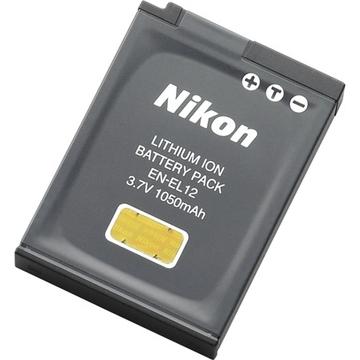 Nikon EN-EL12 (для Nikon S8200/S9100/S1200pj/S6200/P300/S6150/AW100, 1050 мАч, 3.7 В)