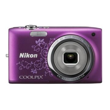 Nikon Coolpix S2700 Purple Lineart