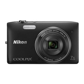Nikon Coolpix S3400 Black