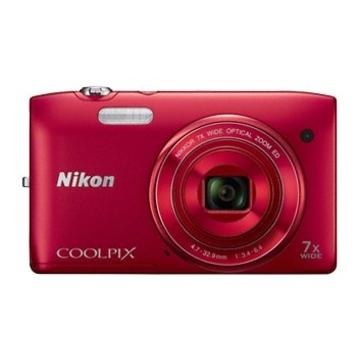 Nikon Coolpix S3400 Red