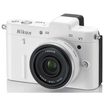 Nikon 1 V1 Kit 10mm F2.8 White