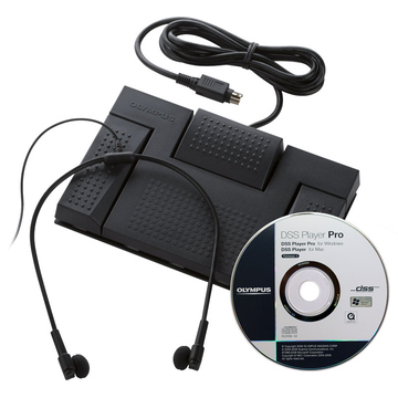 Комплект Olympus AS-5000 (состоит из RS-28, DSS Player Pro и E-62, для диктофона DS-5000)