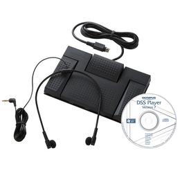 Комплект Olympus AS-2400 (состоит из RS-28, DSS Player Rel.7 и E-102, для диктофонов Olympus)