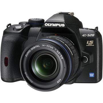 Olympus E-520 Kit 14-42mm, 40-150mm EZ