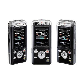 Olympus DM-7 Black (4Gb + SD/SDHC/SDXC, WMA/MP3/PCM, Wi-Fi, Li-50B)