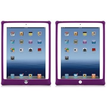 Чехол Bone Bubble Purple (для iPad2/3, силикон)
