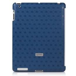 Футляр Bone Embossed Blue (для iPad2/3, поликарбонат)