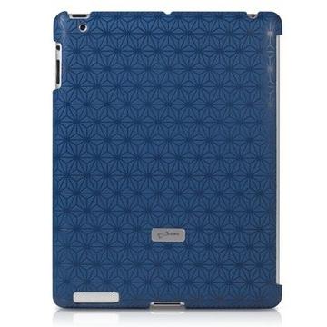 Футляр Bone Embossed Blue (для iPad2/3, поликарбонат)