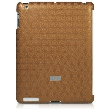 Футляр Bone Embossed Brown (для iPad2/3, поликарбонат)