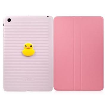 Чехол Bone Folio Mini Pink (для iPad mini, силикон, в комплекте защитное покрытие для экрана)