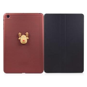 Чехол Bone Folio Mini Red (для iPad mini, силикон, в комплекте защитное покрытие для экрана)