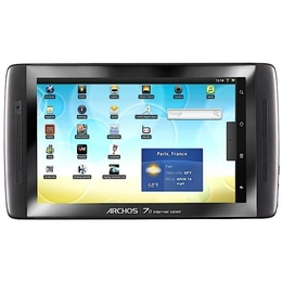 Планшетный компьютер Archos 101 Internet Tablet 08GB Black (flash, Wi-Fi, Android 2.2 Froyo)
