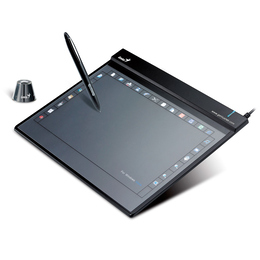 """Планшет для рисования Genius G-Pen F509 Black (5.25""""""""x8.75"""""""", USB)"""
