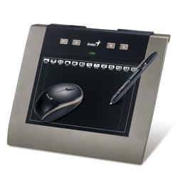 """Планшет для рисования Genius MousePen M508WXA Black (5""""x8"""", беспроводные перо и мышь, USB, с ПО Adobe Photoshop Elements и Corel Painter Essentials 4)"""