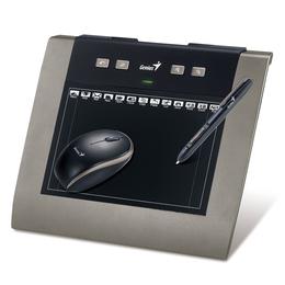 """Планшет для рисования Genius MousePen M508XA Black (5""""x8"""", беспроводное, с ПО Adobe Photoshop Elements 9 и Corel Painter Essentials 4)"""