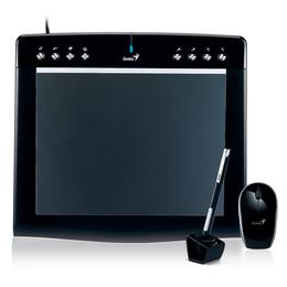 """Планшет для рисования Genius PenScetch M912 Black (9""""x12"""", беспроводная мышь и перо, не требующее батареек)"""