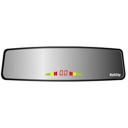 ParkCity Ontario 420/105 Black (LED дисплей в виде зеркала заднего вида, 4 датчика по 20мм, визуальное/звуковое оповещение)