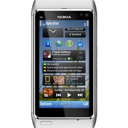 Nokia N8-00 Silver White