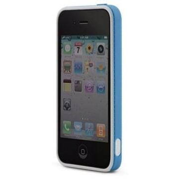 Бампер Bone Ring Blue (для iPhone 4)