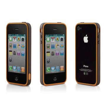 Бампер Bone Ring Brown (для iPhone 4)