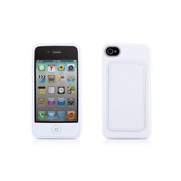 Футляр Bone Phone Leather White (для iPhone 4S, кожа, 62x118x13 мм)