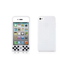 Футляр Bone Phone Cube White (для iPhone 4S, силикон, 62x118x13 мм)