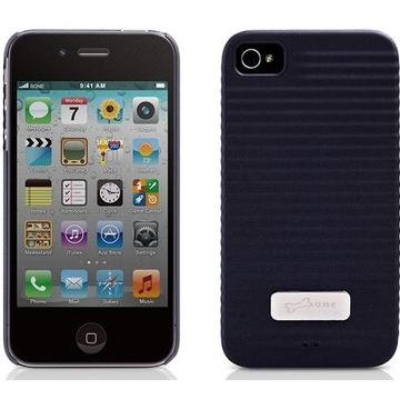 Футляр Bone Phone Ripple 4S Black (противоударный, поликарбонат)