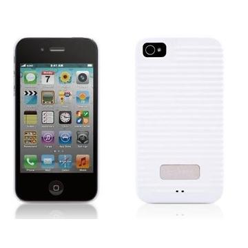 Футляр Bone Phone Ripple 4S White (противоударный, поликарбонат)