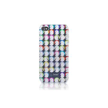 Футляр Bone Phone Shimmer Colour (для iPhone 4S, силикон, 58x115x2.5 мм)